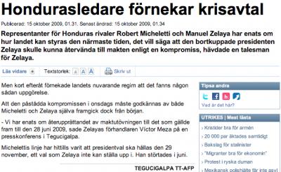 Svenskans nya text.