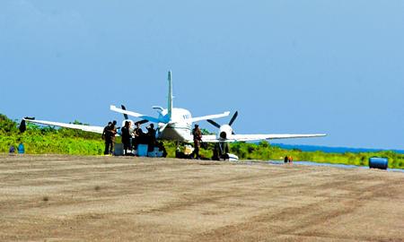 Knarkflygplan på hemlig landningsbana i Honduras.
