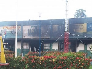 The INTI offices in Sta Barbara went up in flames.