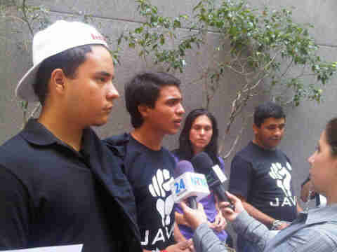 Hungerstrejkande ungdomar